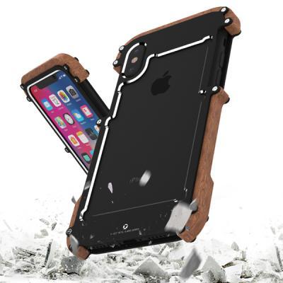 아이폰8 우드메탈케이스