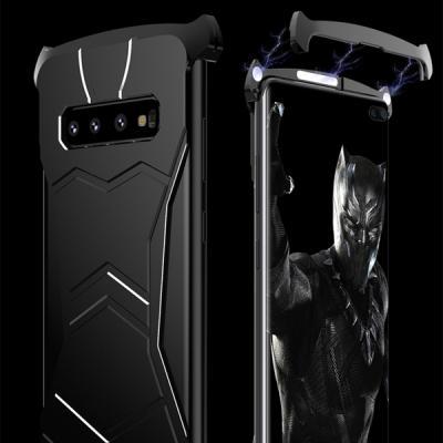 갤럭시S10플러스 G975 블랙 히어로 자석메탈 케이스