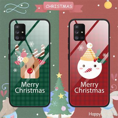 갤럭시A31 A315 심플릿 글라스 케이스/메리 크리스마스~