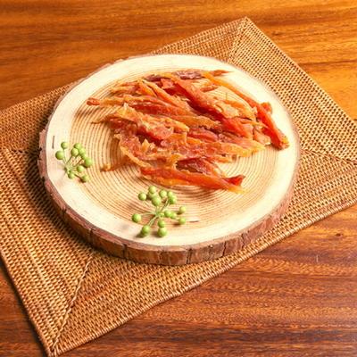 (국산 수제간식) 치킨 슬라이스 80g