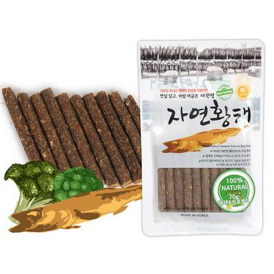 국내산 대관령 자연황태 브로컬리 스틱  70g - d