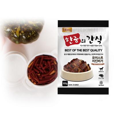 bb.q 한줌의 간식 모이스트  치킨 버거 (100g) x10