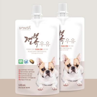 논다 강아지 (전복 우유) 100ml - pt