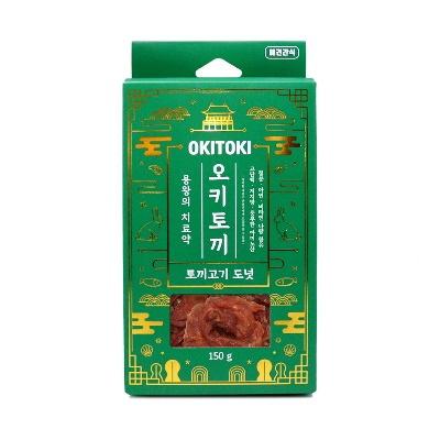 OKITOKI 토끼고기 도넛 150g (pb)