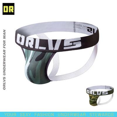 ORLVS 남성 작스트랩 스포츠 팬티 섹시 언더웨어(116)