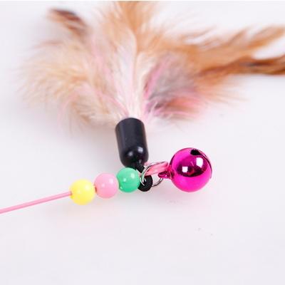 고양이 낚시대 장난감 캣토이 깃털 방울 고양이용품