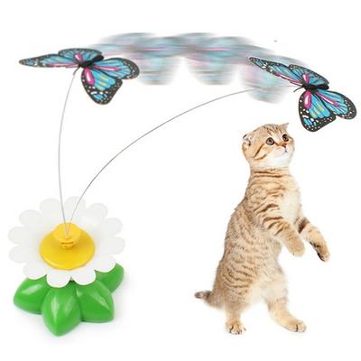 고양이 버드 플라이 자동 장난감 강아지놀이 캣토이