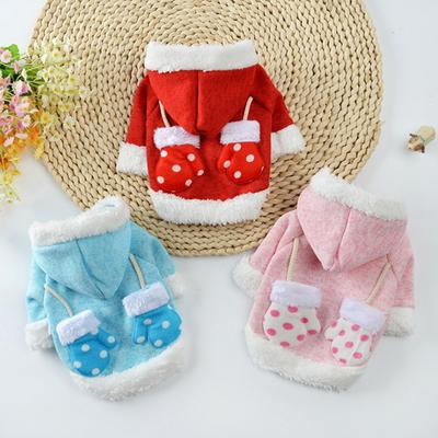 강아지 옷 고양이 패딩 패션 글러브 후드티 겨울옷