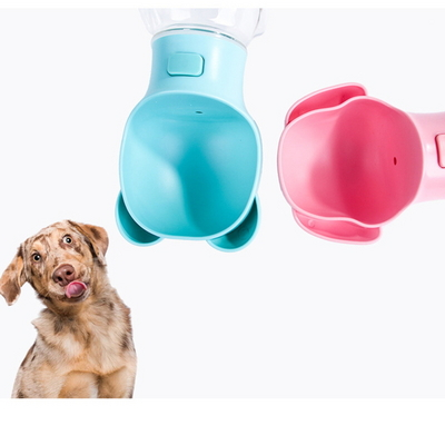 강아지물병 강아지물통 애견 애묘 물병 원터치 큰컵