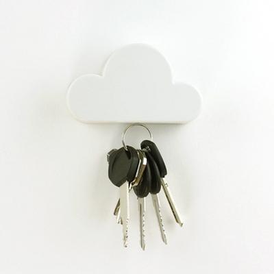 인테리어 벽걸이 후크 구름 열쇠걸이