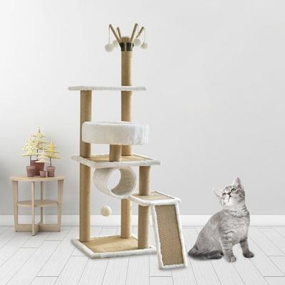 고양이 스크래쳐 하우스 집 장난감 DIY 4단 캣타워
