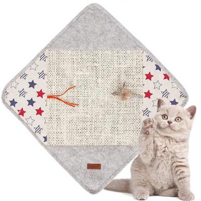 고양이 쿠션 매트 집 공 하우스 장난감 스크래쳐 매트