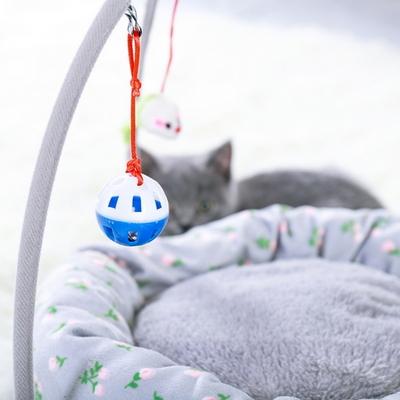 고양이 집 숨숨 강아지 용품 쿠션 하우스 캣 토이 방석