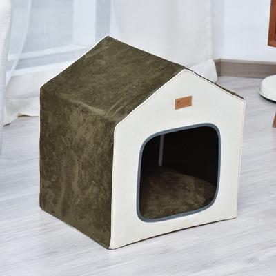 강아지 집 하우스 고양이 방석 쿠션 숨숨 DIY 스퀘어 펫 하우스