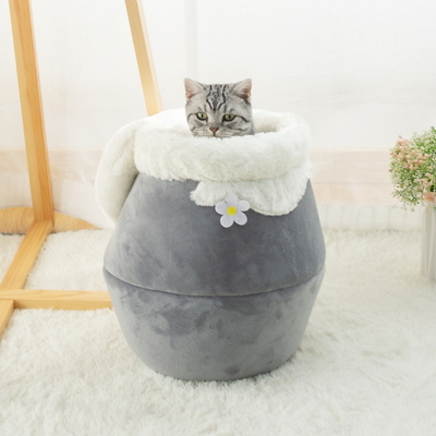 강아지 하우스 길 고양이 길냥이 겨울 방석 쿠션 꿀단지 숨숨 집