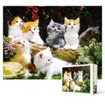 150피스 직소퍼즐 - 예쁜 고양이들