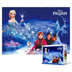 500피스 직소퍼즐 - 겨울왕국 겨울빛 (야광)