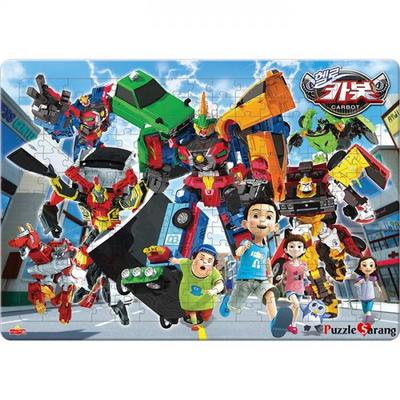 195조각 판퍼즐 - 헬로 카봇 2