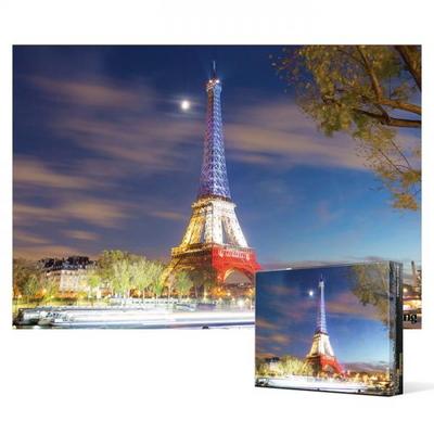 2000피스 직소퍼즐 - 국기색으로빛나는 에펠탑 (미니)