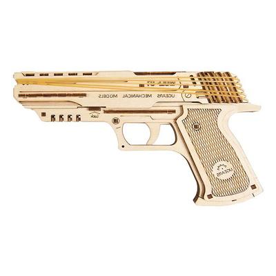 62피스 목재 입체퍼즐 - 유기어스 고무총