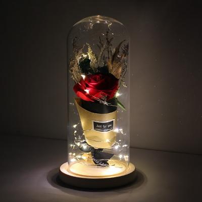 LED 유리돔안 장미(대) 무드등