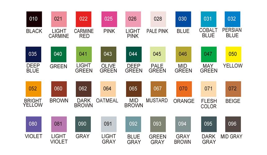 클린컬러 리얼브러쉬 (36색세트) - 쿠레타케 지그, 102,000원, 데코펜, 붓펜