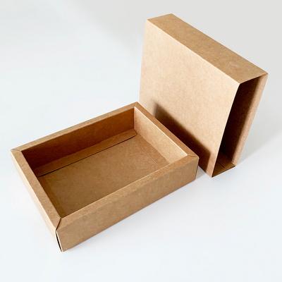 접이식 크라프트박스 답례품상자 포장박스 서랍형박스