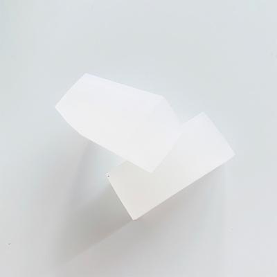 지우개스탬프 조각용블록 흰색 투명 원형 사각형