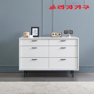 커틴 모던 와이드 서랍장 3단