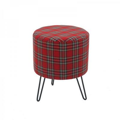 루킷 철제 패브릭 스툴 의자