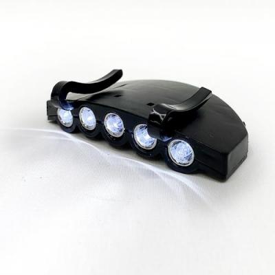 헤드클립렌턴 1+1 LED 경량 후레쉬 캠핑 낚시 캡라이트