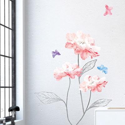 아트 플라워 시리즈 포인트 스티커 꽃 6종