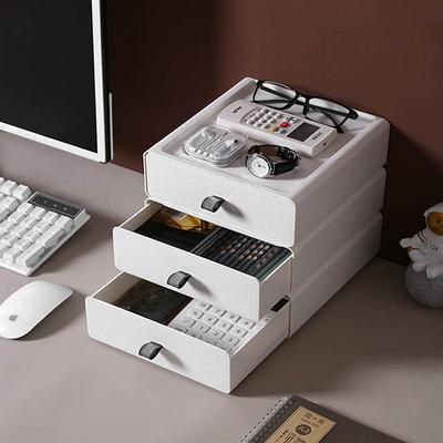 책상 미니서랍 사무용품 정리함 실리콘 그립 적층서랍