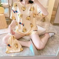 어린이 성인 원피스잠옷 반팔잠옷세트 파자마