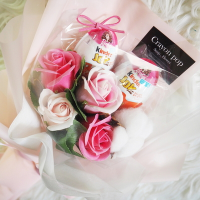 21 학예회 꽃다발 킨더조이 재롱잔치 졸업식 사탕