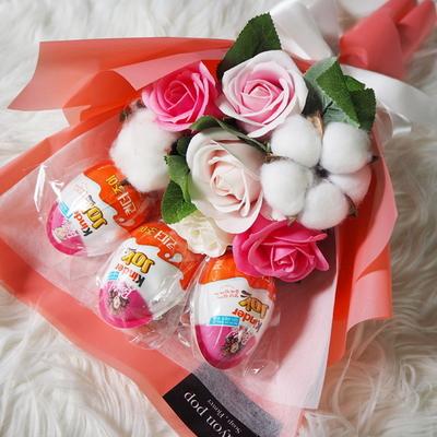 23 학예회 꽃다발 킨더조이 재롱잔치 졸업식 사탕