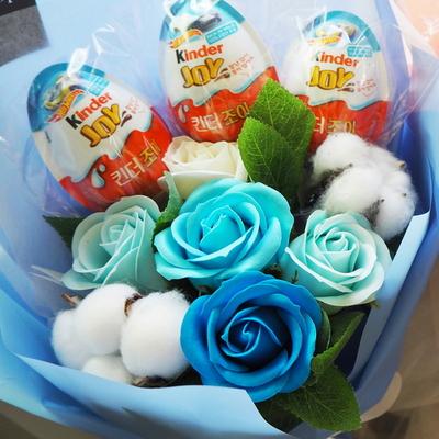 24 학예회 꽃다발 킨더조이 재롱잔치 졸업식 사탕
