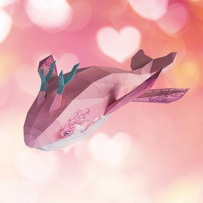 페이퍼크래프트 고래의비행(샤이) Whale Flight(Shai)