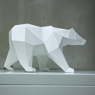 페이퍼크래프트 사라져가는 북극곰 Polar Bear