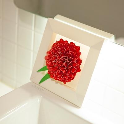 페이퍼크래프트 페이퍼플라워 카네이션 paper flower Carnation