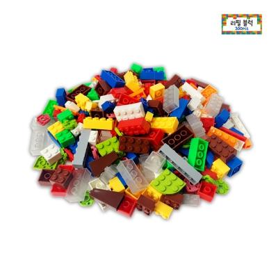 리필블럭 300pcs 그린 레고호환 중국레고 블록놀이
