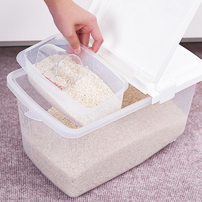 일본 쌀통 화이트