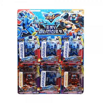 5000또봇V미니변신로봇(1판-6EA)