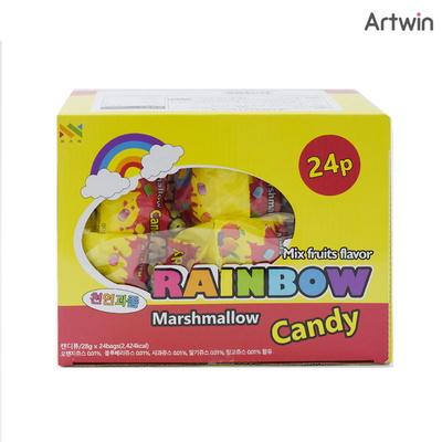 200 레인보우 마쉬멜로우 캔디 BOX(24)