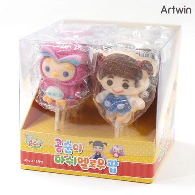 1500 콩순이 마쉬멜로우 팝 캔디 BOX(12)