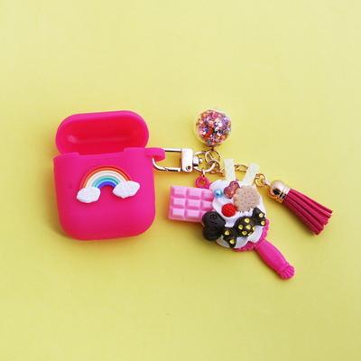핑크 파르페 에어팟 케이스(키링 별도구매)