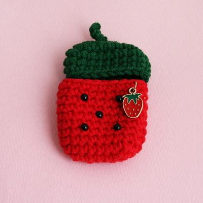 딸기 당근 복숭아 사과 에어팟케이스