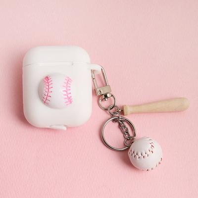 야구공 에어팟 키링(케이스 별도구매)