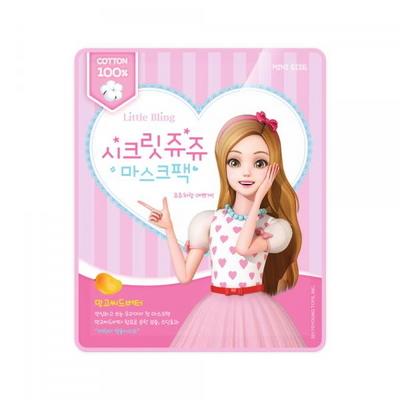 어린이화장품 시크릿쥬쥬 메이크업 마스크팩 1박스 5매