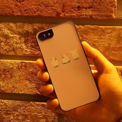 아이폰6S/6S플러스 슬림핏 아기돼지삼형제 STYLE케이스